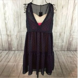 f708898d4a KOOKAI Women s Sheer Overlay Baby Doll Dress 36 8